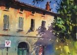 (watercolour) Avignon, France